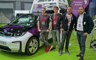 07 Gera eSport bei der 12. Automobilmesse in Erfurt