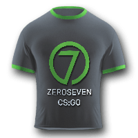 ZeroSeven CSGO Female PRO Team T-Shirt