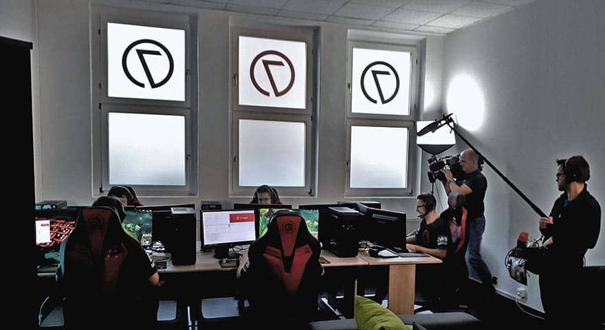 ZDF zu Gast im Thüringer 07 eSport Verein ZeroSeven